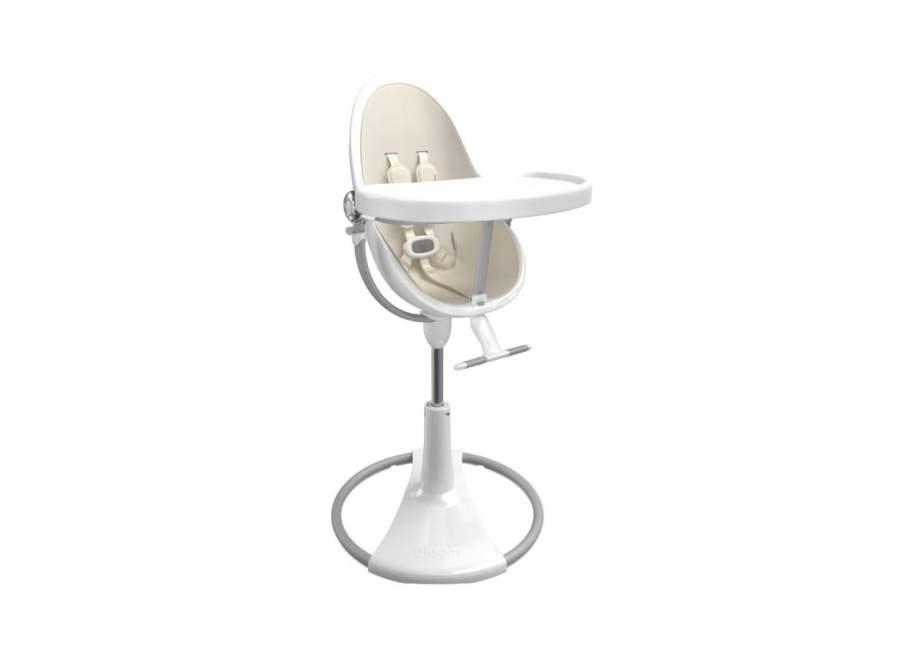 BLOOM Fresco Chrome maitinimo kėdutės rėmas, White