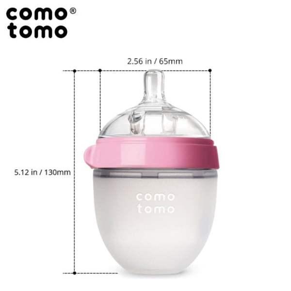 COMO TOMO EVOLVED 2 vnt. buteliukų rinkinys, Pink, 150 ml