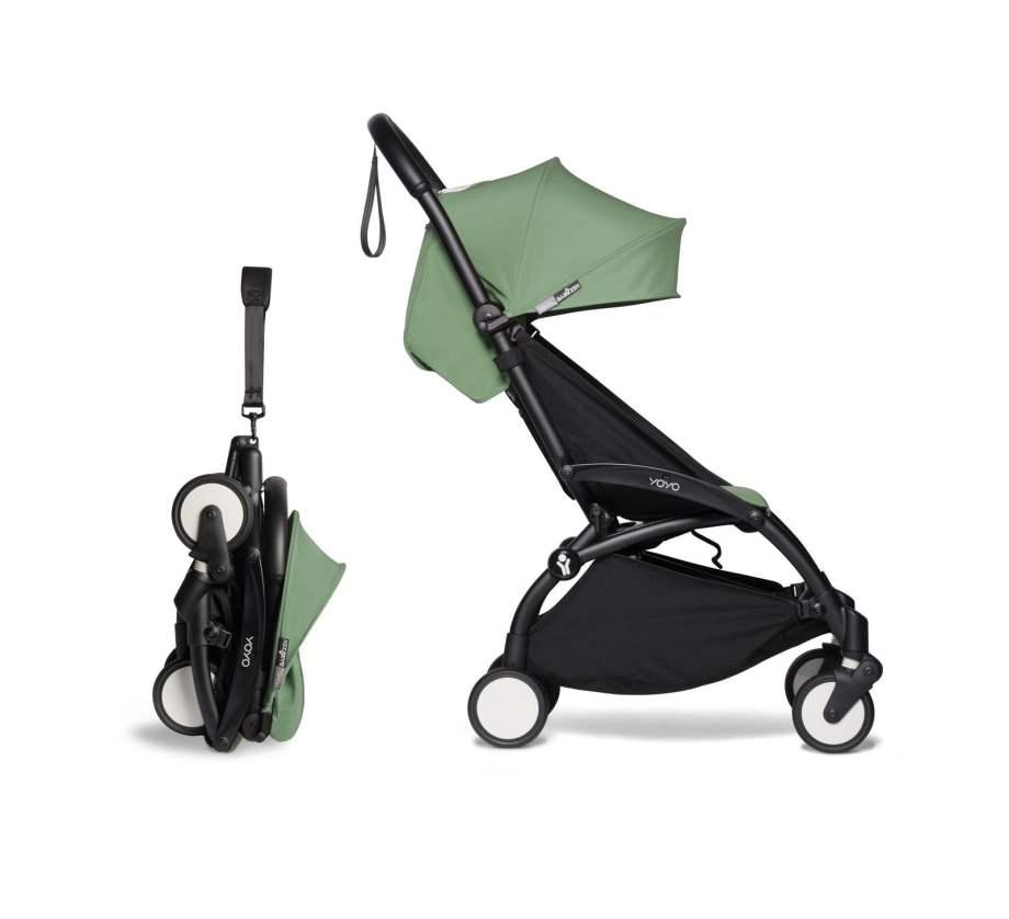 BABYZEN YOYO² 6+ vežimėlis rėmas Black, Peppermint
