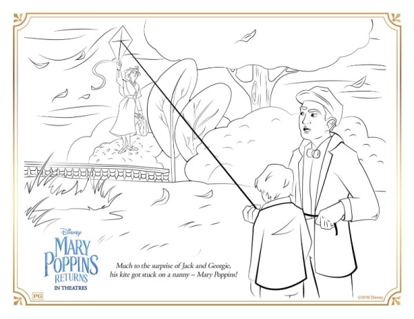 mary poppins coloring pages # 20