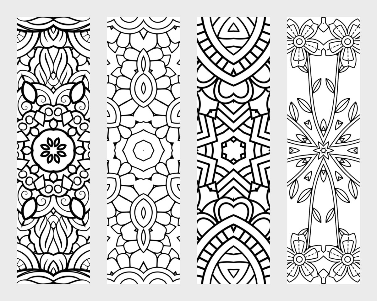 Free Printable Bookmarks To Color That Are Priceless