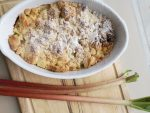 Back - Freitag: Rhabarber Crumble - sommerliches Rezept
