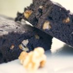 Dark Chocolate Walnut Brownies