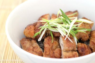 Garlic Teriyaki Chicken Bowl