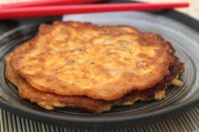 Tofu Kimchi Pancake