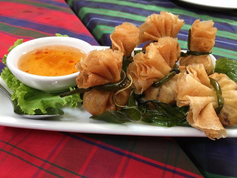 Thung Thong - Deep fried chicken and black mushroom