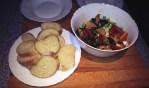 Sherry, Chorizo and Chicken salad