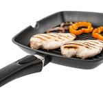 Savisto-28cm-Premium-Cast-Aluminium-Non-Stick-Griddle-Pan-for-Gas-Induction-Electric-Hobs-with-Detachable-Handle-2-Year-Guarantee-0-3