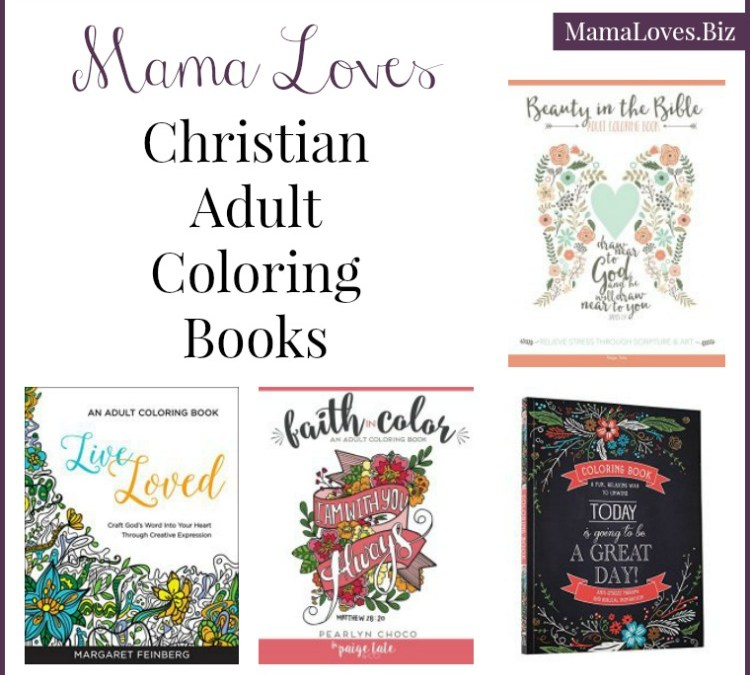 Christian Adult Coloring Books Ease Stress in a Whole New Way