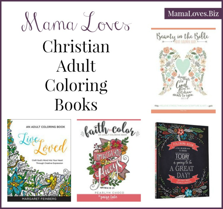 Adult Coloring Book Religious Christian