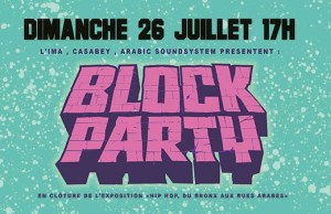 Block Party IMA PARIS