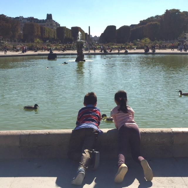 Vacance in Paris