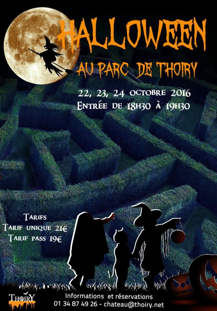 Halloween in Paris