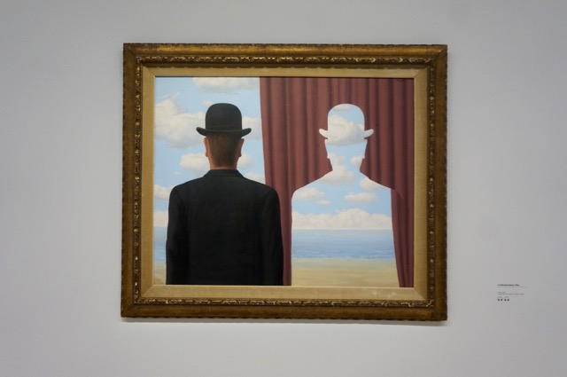Magritte at the Pompidou