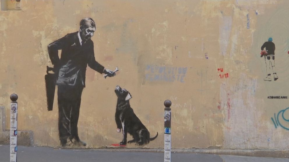 banksy in Paris