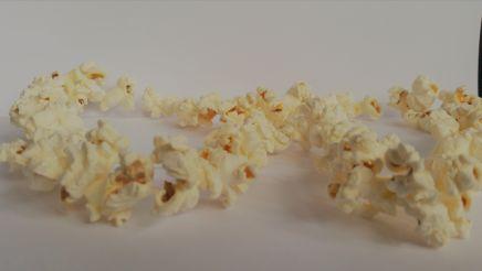 Guirnalda de palomitas de maíz/cotufas