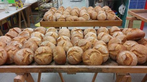 Panes recién hechos