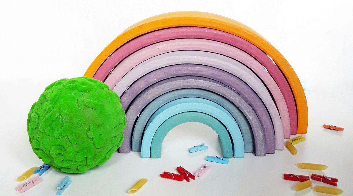 Cinco actividades para hacer con el arcoíris Waldorf