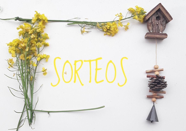 Título low-cost con flores amarillas