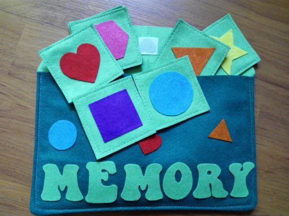 Juego memoria - Quiet book patri