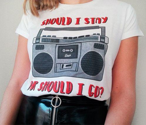 Camiseta estampada By Greta.