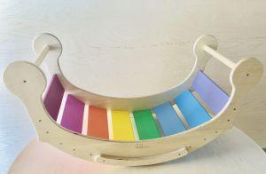 Balancín colores. Imagen de Luila.