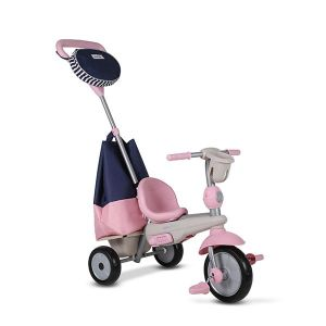 Triciclo rosa. Imagen de Eureka kids.