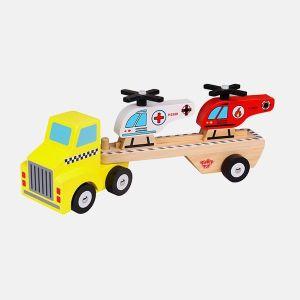 Camión de madera. Imagen de Marieta kids.