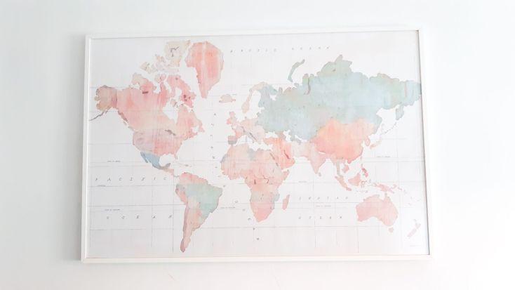 Mapa mundi.