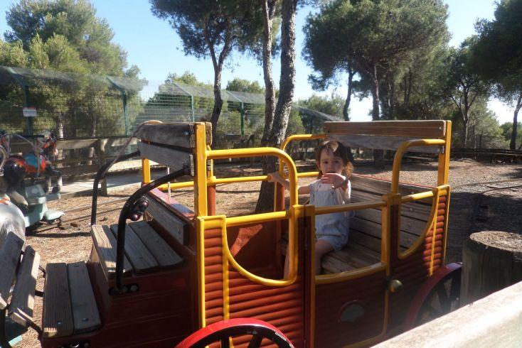 Victoria en la carroza.