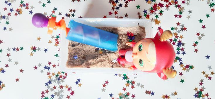 Con arena lavada y elementos navideños se lo van a pasar en grande.