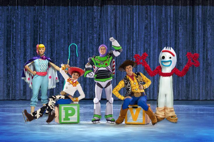 Personajes de Toy Story 4.