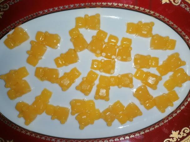 Jeleuri de portocale fara zahar