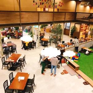 川中島Hiroba飲食スペース