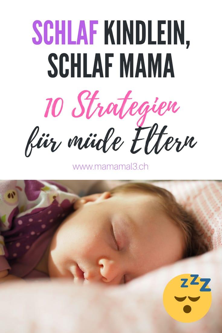 10 Strategien für mehr Schlaf für Eltern | Mama mal 3