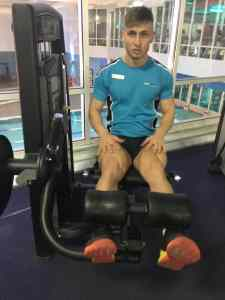 gym instructor demonstration total fitness