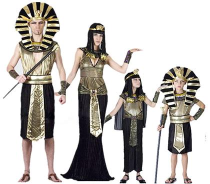 クレオパトラ ファラオ ツタンカーメン 古代エジプト王族風ハロウィンコーデ