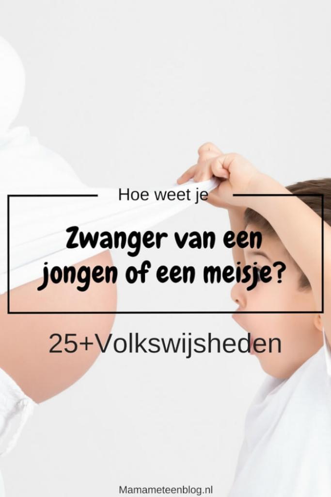 Zwanger van een jongen of een meisje mamameteenblog.nl