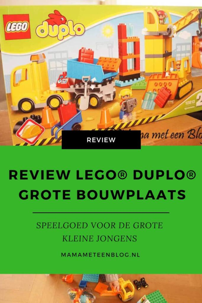 Review LEGO DUPLO Grote Bouwplaats mamameteenblog.nl