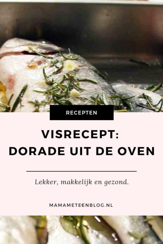 Visrecept dorade uit de oven mamameteenblog.nl