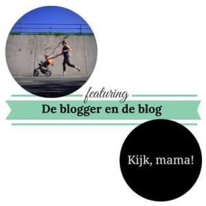 de blogger en de blog kijk mama 1 mamameteenblog