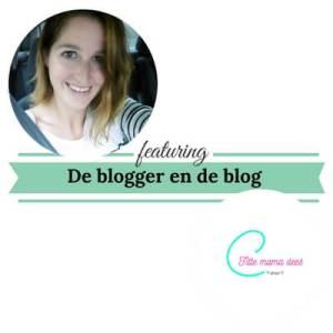 De blogger en de blog fittemamamdees mamameteenblog.nl