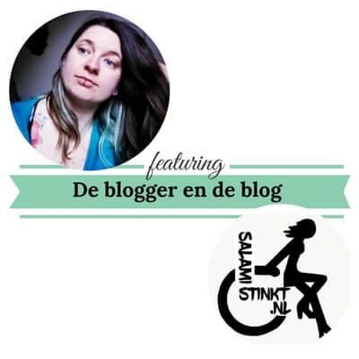 De blogger en de blog salamistink mamameteenblog