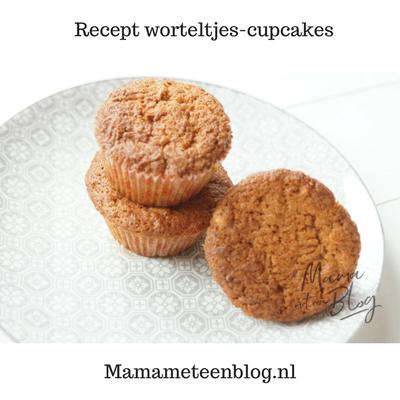 Recept worteltjes cupcakes carrotcake cupcakes Mamameteenblog