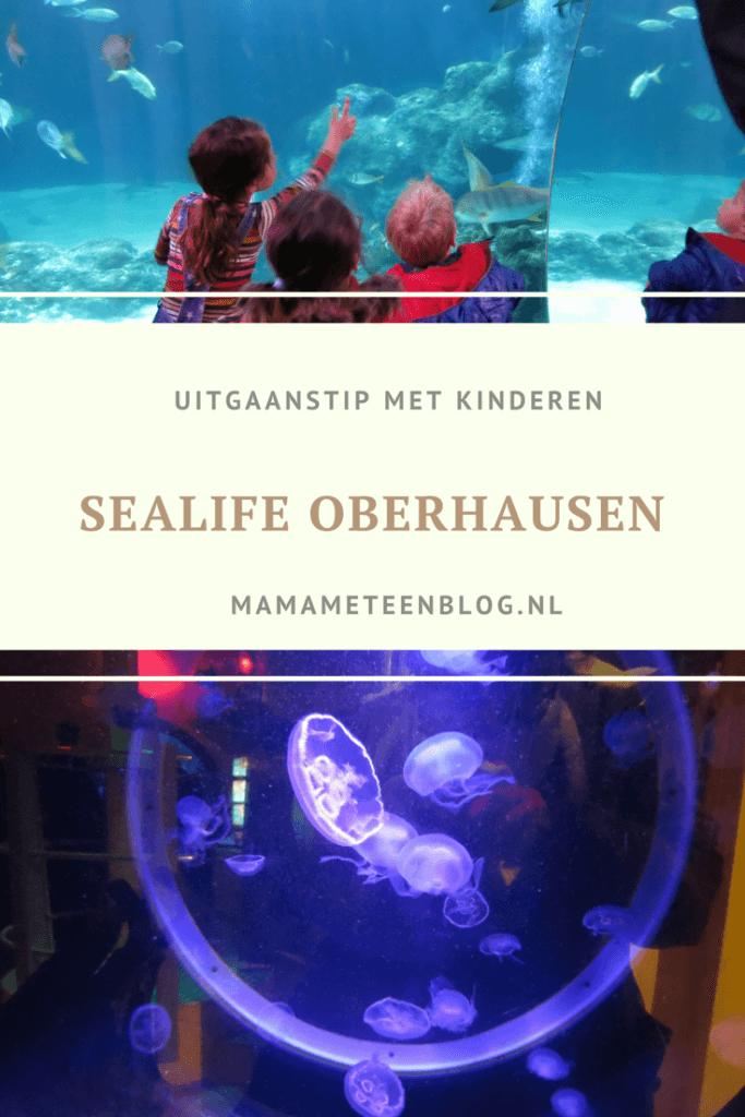 Sealife Oberhausen Uitgaanstip kinderen Mamameteenblog