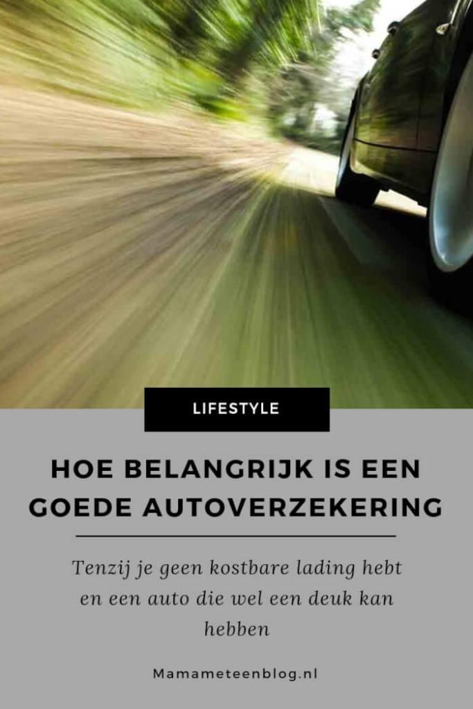 Goede autoverzekering mamameteenblog.nl