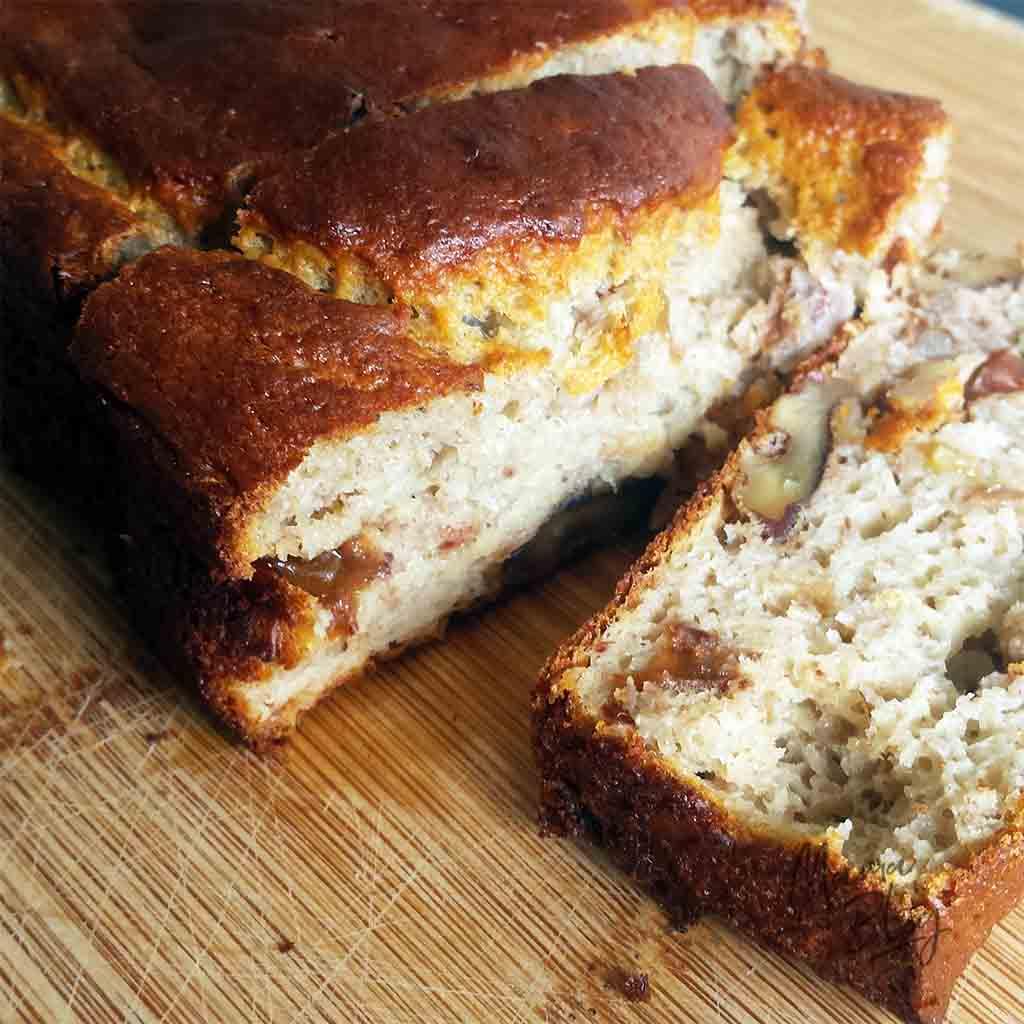Recept voor Bananenbrood, suikervrij en maar 5 ingrediënten