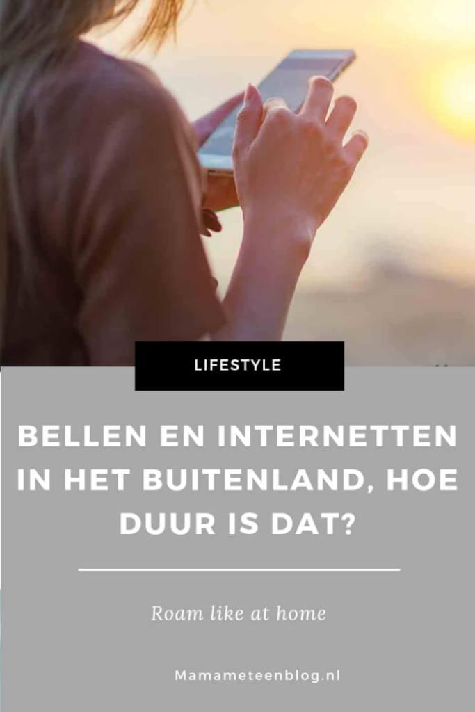 bellen en internetten buitenland mamameteenblog.nl