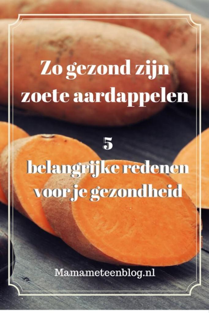 zoete aardappelen waarom gezond mamameteenblog.nl