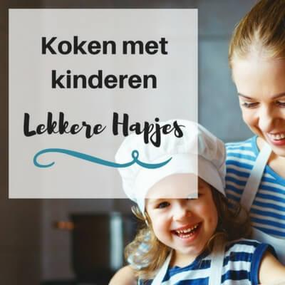 koken met kinderen mamameteenblog